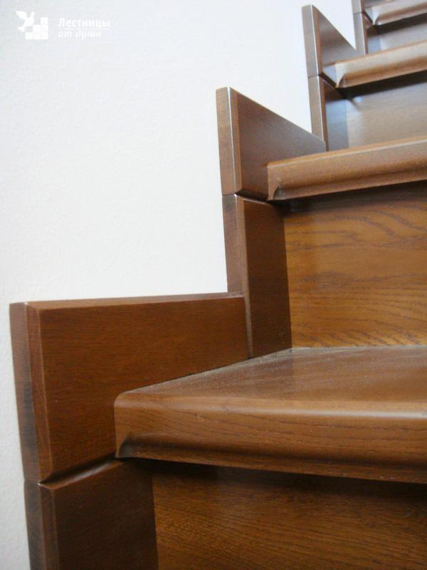 деревянной лестницы на заказ в московской области