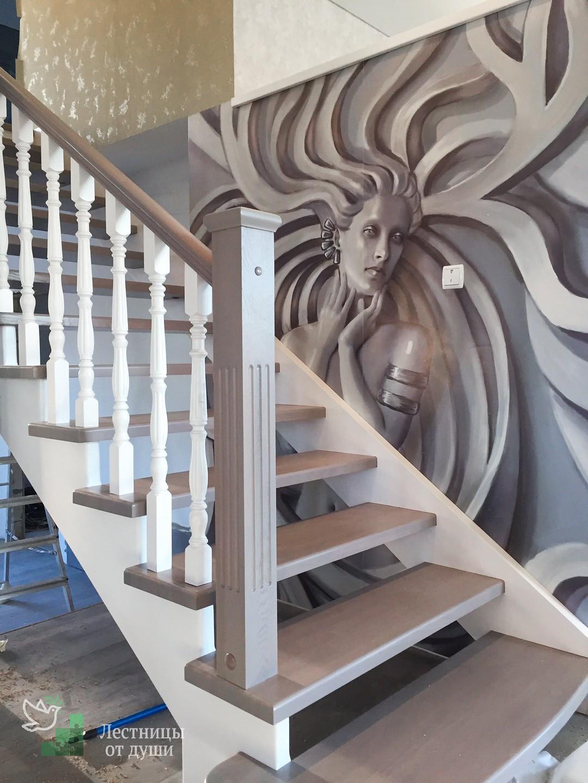 Идеи деревянных лестниц