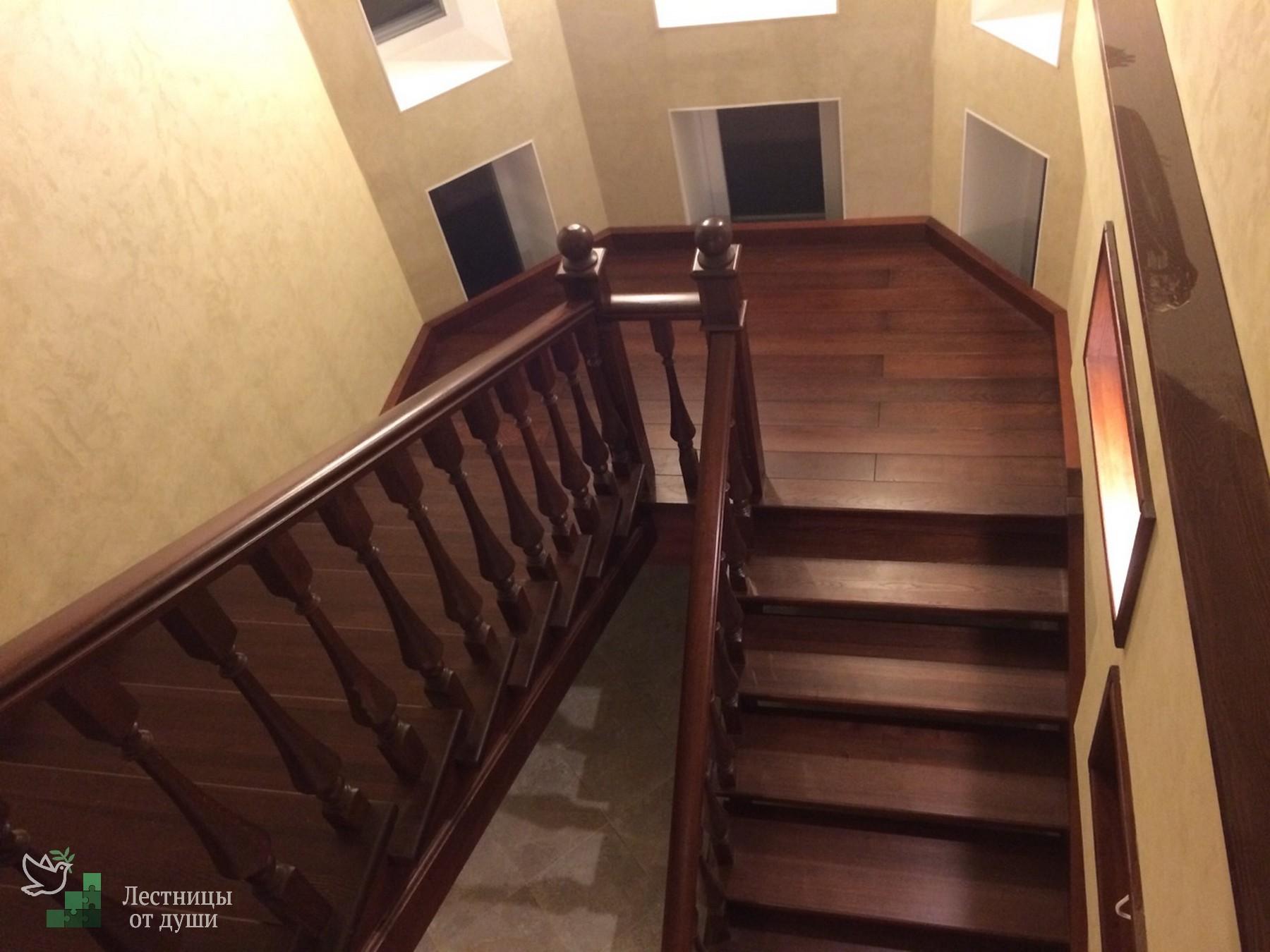 Лестница масштабных размеров